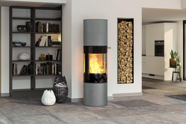 RAIS Viva L 160 - Pendle Stoves - Wood Burning Stoves
